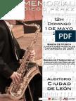 """MEMORIAL """"DIEGO PÉREZ"""" - DOMINGO 1 DE MAYO´16 - AUDITORIO CIUDAD DE LEÓN"""