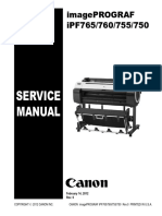 Canon Ipf760 - Service Manual