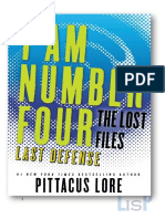 Pittacus Lore - LF14 Ultima Defensa
