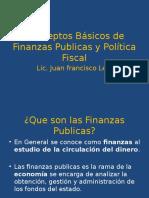 Conceptos Básicos de Finanzas Publicas y Política Fiscal