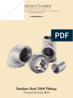 SCI Stainless 150 Fittings 0709