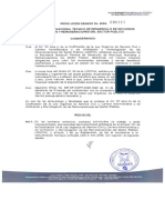 2009-115 Incremento a La Remuneracion 2009