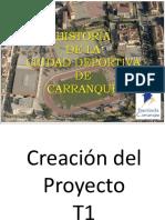 Historia de La Ciudad Deportiva de Carranque