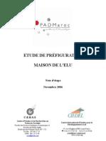 ETUDE DE PREFIGURATION
