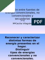 Tipos de Energías Convencionales y No Convencionales