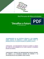 2012 Red Peruana Masc Desafios Del Futuro_Telleria