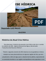 Apresentação Luiz Paulo Crise Hídrica