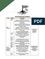 Programacion General Semiotica 2016 Medellin