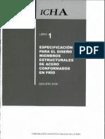 especificacion para diseño elementos conformados en frio chile.pdf