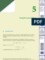 integrales parametricas