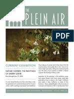 The Plein Air, Spring 2016 Issue