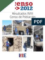 Resultados Censo 2012 Poblacion Vivienda TomosIyII