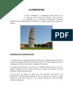 Cimentación Torre de Pisa