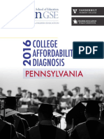 College Affordability Diagnosis 2016, Pennsylvania report