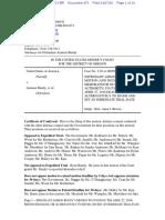 04-27-16 ECF 470 USA v A BUNDY et al - Second Motion to Extend Motion Deadlines