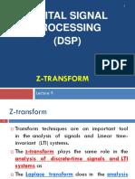 9 Lec9 DSP Z Transform