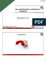 Abastecimiento y Control de Almacenes - Sesión i