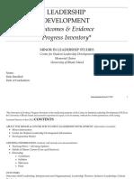 leadership development journal