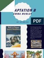 Adaptation Crit