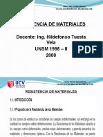 1.-Introducción Resistencia de Materiales