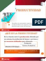 Productividad Como Se Calcula