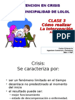 Cómo Realizar La Intevencion Clase 3