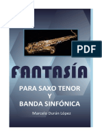 Fantasía Sax (Partitura y Partes)