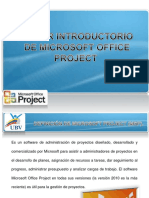 Taller Introductorio. Microsoft Project