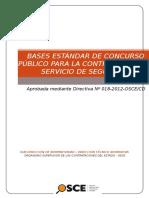 Bases Estandar Cp Servicio de Seguridad