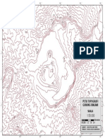 Peta Topografi Gunung Bromo (Randa Guruh Sumarsono)