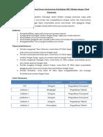 Contoh Analisis Kompetensi Dasar Dengan Tabel Taksonomi