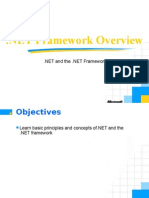 NET Framework Overview
