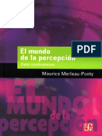 Maurice Merleau Ponty El Mundo de la percepcion Siete Conferencias .pdf