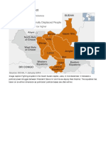 southern sudan - map study