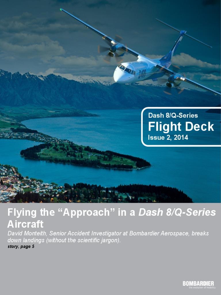 Dash 8-Q Series Flight Deck Issue 2 2014   Jet Engine   Lift (Force)