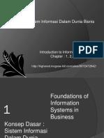 Konsep Dasar Sistem Informasi Dalam Bisnis_pert_1-4 (39_slide)