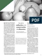 USO DE LA RADIACION EN CONSERVACION DE ALIMENTOS.pdf