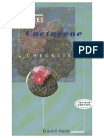 CITES Cactaceae Checklist