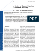 A Comparative Review of Current Practices in Personality Assessment Normingarative Review of Current Practices in Personality Assessment Norming
