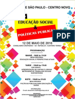 Encontro de Educação Social e Politicas Públicas