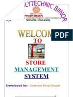 Store Management Report