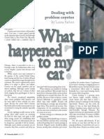 KA Fall 2007 Problem Coyotes
