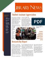 Library News April 2016