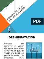 Deshidratación Del Gas Por Adsorción