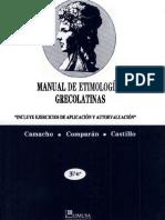 Varios - Manual de Etimologias Grecolatinas