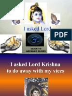Krishna says.......