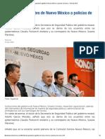 15/04/16 Capacitarán agentes de Nuevo México a policías de Sonora -Noticias MVS