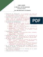 Derecho de Obligaciones (Civil)
