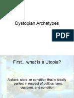 dystopian literature characteristics