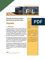 Estado Actual de Los Metros y Ferrocarriles en América Latina - CEPAL 2013